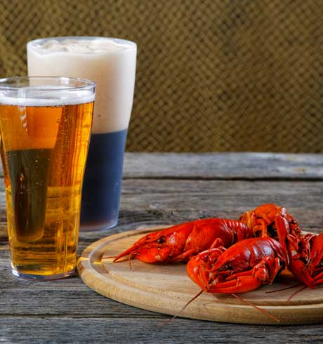 Beer and Lobster in Myrtle Beach
